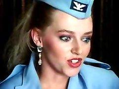 Stewardess gets Nailed