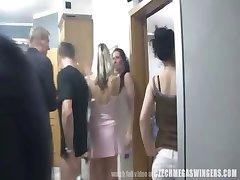 Amateur Couples at Czech Swingers Party