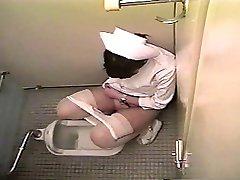 Nurse masturbates in a toilet (Japan)
