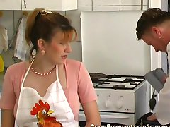 pregnant housewife needs hard sex