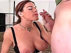 Deepthroat chick learns to swallow