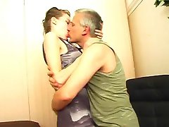 Secretary teen quiet down by the boss cock