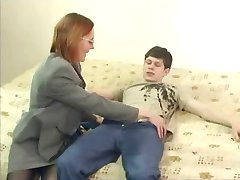 Russian Milf 1 of 4 - Licking Cock