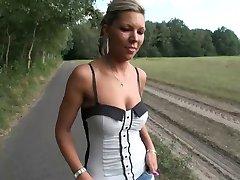 LGH - German Tamia - Public Nylons High Heels + Sneakers