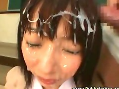 Bukkake Japanese Blazor School Girl Hot Cum Shower