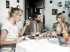 Classic pornography from 1981 with these horny stunners getting fucked