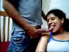 Desi couple loves demonstrating on webcam