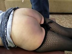 Bi-curious Damsels Get Their Butts Blistered Part 1