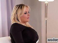 Big tits pornstar hump with cumshot