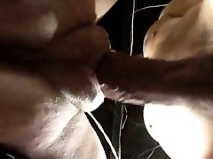 Unloading pussy with ample lips getting fucked