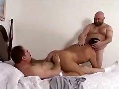 Naughty male in fabulous bareback, bears fag porn clip