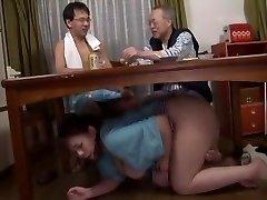 Incredible Japanese slut in Fabulous Blowjob, Fetish JAV clamp