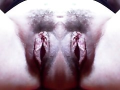 Monster vagina: big double hairy pussy and incredible humungous snatch