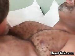 Homo black bear has great sex as he sucks part6