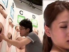 Sexy Japanese super-bitch in Crazy Fingering, Cunnilingus JAV movie