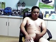 asian bear boy jerkoff cumshot