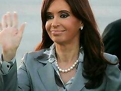 Cristina Fernandez de Kirchner Jack Off Challenge