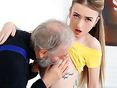Empera ישנים גבר מזיין טרי מותק בן-n-צעיר