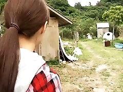 תמים יפנית מלאך Rinas הפלאות מהווה בביקיני