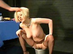 blond slave anal tortured