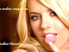 Lexi Belle swallow compilation