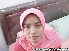 ערבי חובבים אישה תוצרת בית, מציצה ודופק פנים