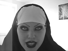 סקסית הרע נזירה lipsync