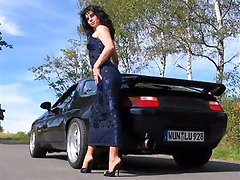Pedal pumping in high heels