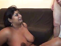 BBW סקס קבוצתי #2 (רמאות שמנמן MILF אשתו הודי חוזר)