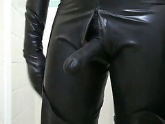 Rubber Catsuit, Waders and Butt Plug