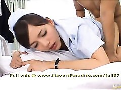 Rio smart naughty Asian nurse gets fucked hard