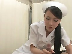 Cute Japanese Teen Nurse Blowjob