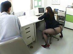 יפנית משרד סטודנטה שמשגע אותי על ידי airliner1