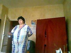 BBW וניה אחרי אמבטיה