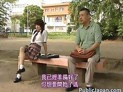 באסיה יש מודל חם, סקס בציבור part2