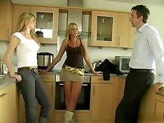 Jerked Off By Three Ladies