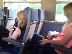 flash în tren