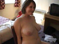 Amateur busty girlfriend fucks her boyfriend