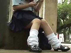 תלמידות Underpanties