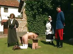 Hard Spanking and Whipping  &Garden Party&