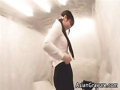 sexy femeie din asia se smulge masat part4
