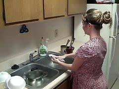 בהריון - הוט מתבגרה וויט ענק בל לקבל hipnoze