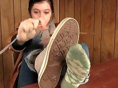 transpirat șosete, pantofi - picioare