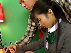 חם יפני בחורה תלבושת בית הספר רוכב D