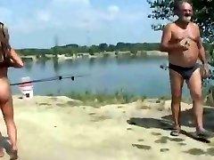 plaja nud - ușuratică exhibitionist reprezintă pentru voyeuri
