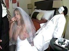 dude nail bride while grooms didn't awake