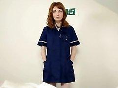 Medicinska sestra stajati