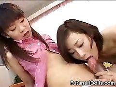 Youthful Futanari Babysitters!