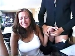 Compilation Hot chicks reacting to fat spunk-pumps