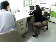 Japanese office nymph drives me crazy by airliner1